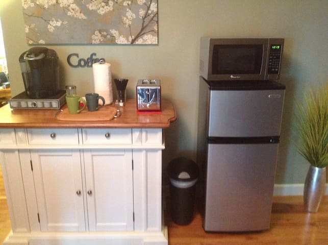 coffee & tea station