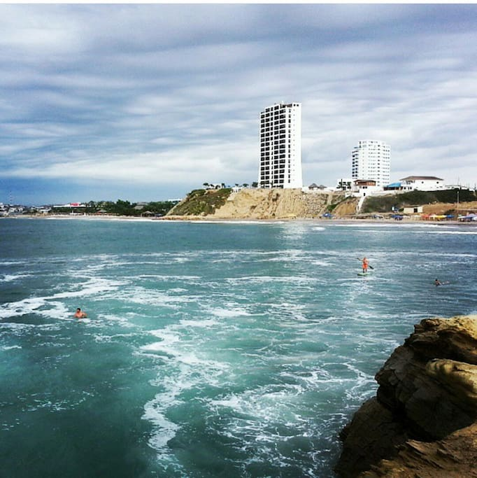 Perfect surf for beginners and body boarding
