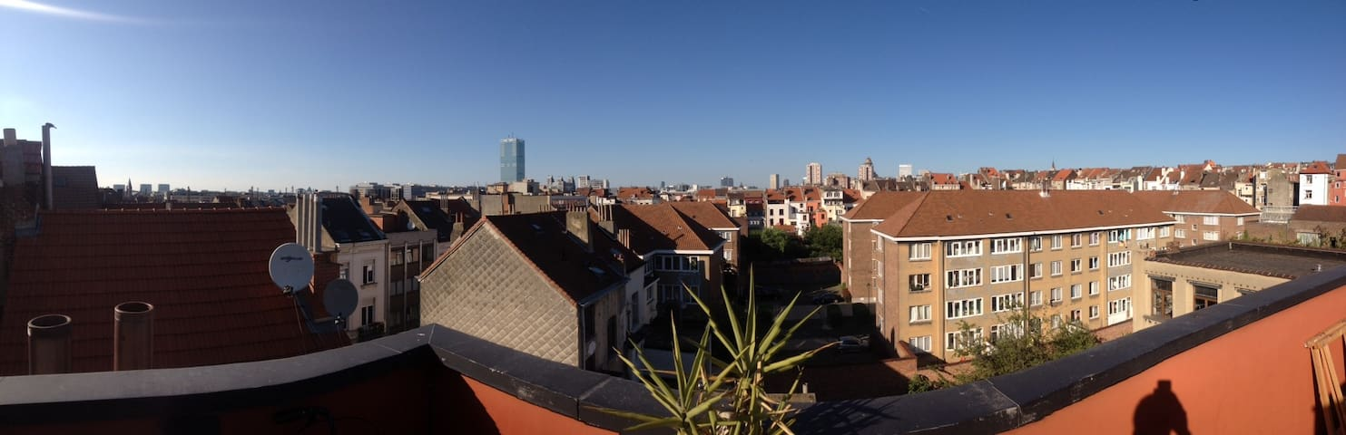Wonderful Penthouse - Saint-Gilles - Apartamento