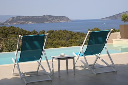 Villa Emmelia amazing view with  pool - Porto Cheli