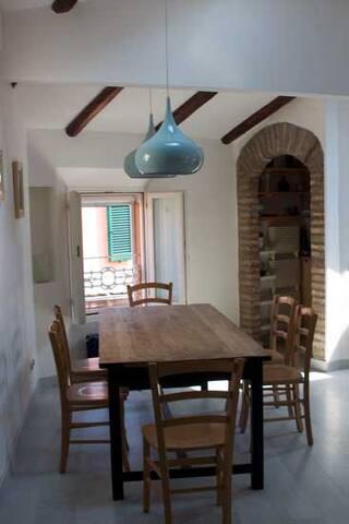 Arco per l'accesso alla Cucina