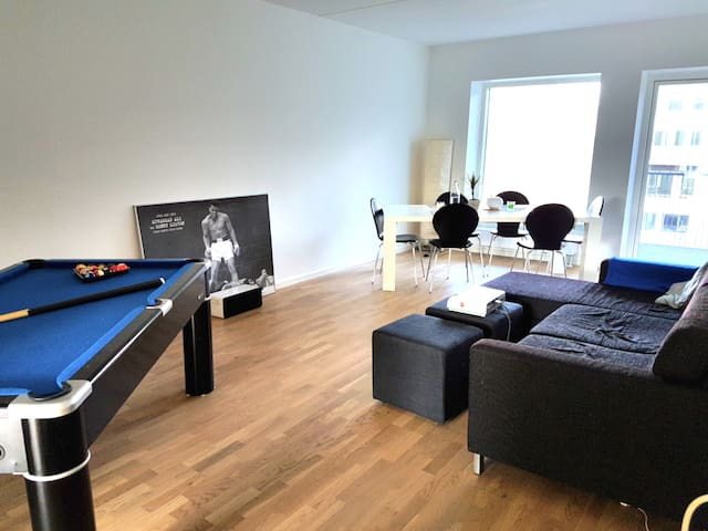 Room in a fun, luxury apartment - Copenhagen  - Leilighet