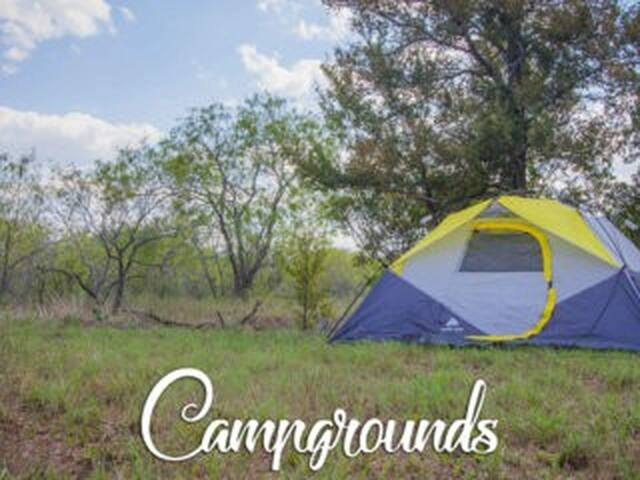 Z#1 Tent Camping @ Salvage Texas