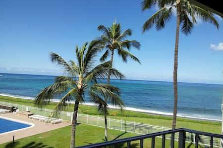 """SANDY BEACH FRONT 1BED - """"MAILI OASIS."""""""