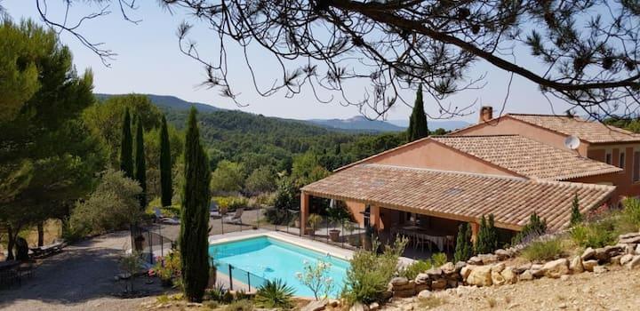 Villa de vacances familiale près d'Aix
