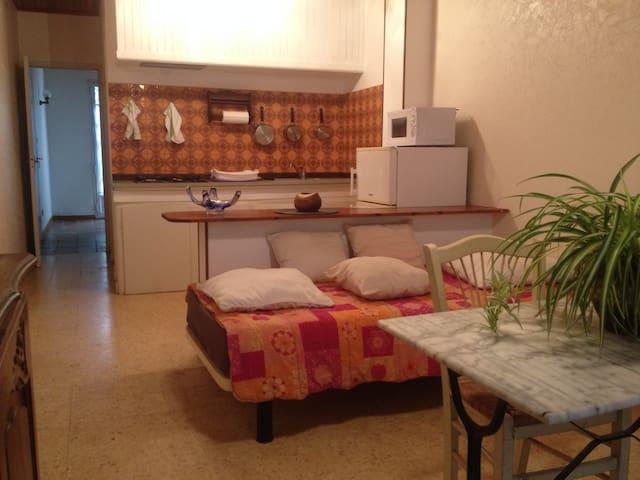 Appartement de vacances de type F2 en rez de jardi - Corneilla-Del-Vercol - Apartemen