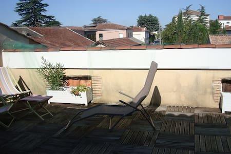 appartement privé dans maison - Villeneuve-sur-Lot - Haus