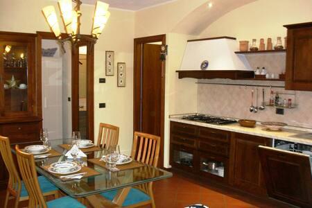 Taverna in villa vicina al centro e città alta. - Bergamo - Wohnung