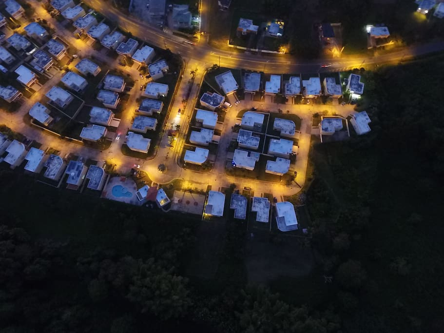 .Aerial View