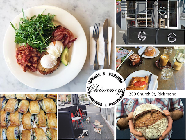 Must try Chimmy's homemade sausage rolls, spinach & ricotta pies and their various breads.
