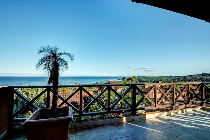 San Lameer Villa 13928 with panoramic sea views