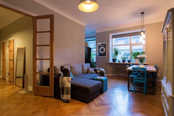 Room in Art Nouveau area - Rīga - Apartment
