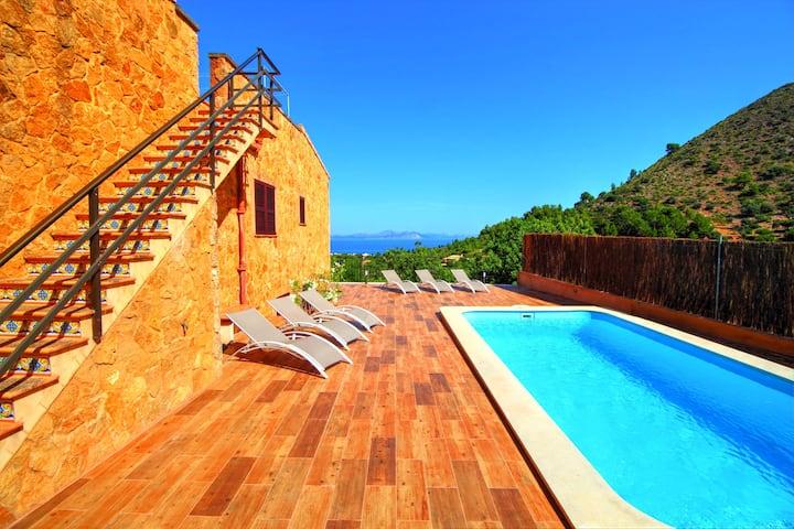 Villa relax with beautifull seaviws