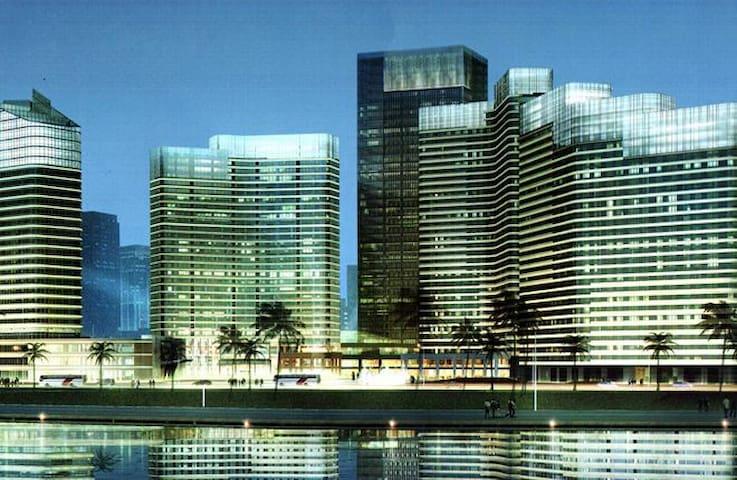 一线海景,蜜月圆床 - 厦门市海沧区