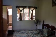 Queen Bedroom upstairs.
