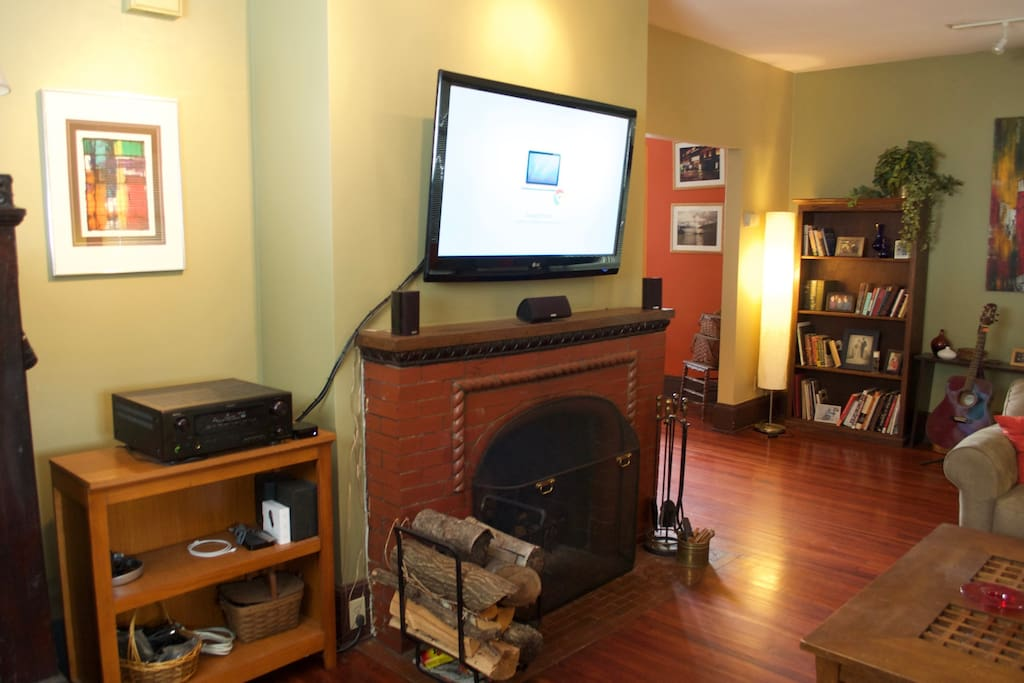Living Room - Entertainment streaming video