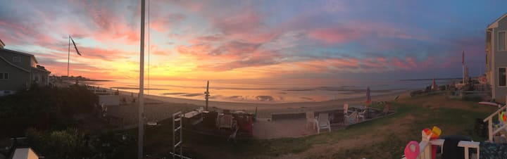 Sunrises and Smores on Private Moody Beach
