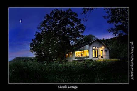 Stunning Eco Modernist Lakehouse - Hubbardton - Hus