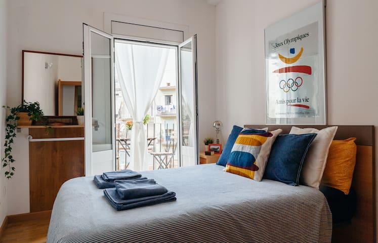 Double Room in Hip Neighborhood