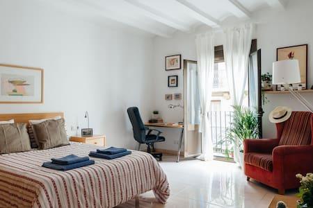 Hip En Suite Room in Raval - 巴塞罗那 - 公寓