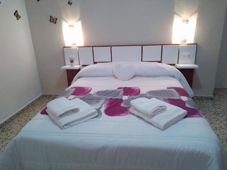 dormitorio principal para invierno