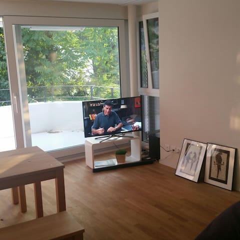 20 min to Zurich by public transpor - Dübendorf - Apartment
