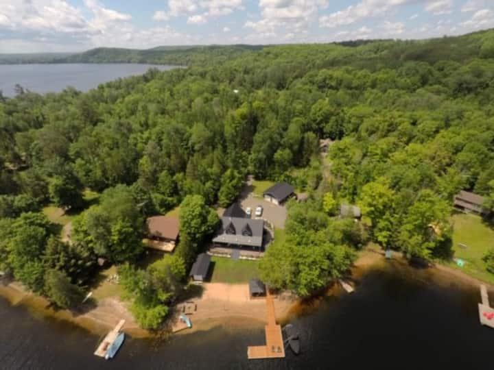 4 season Cottage Maple Lake Sat-Sat in Jun-Jul-Aug