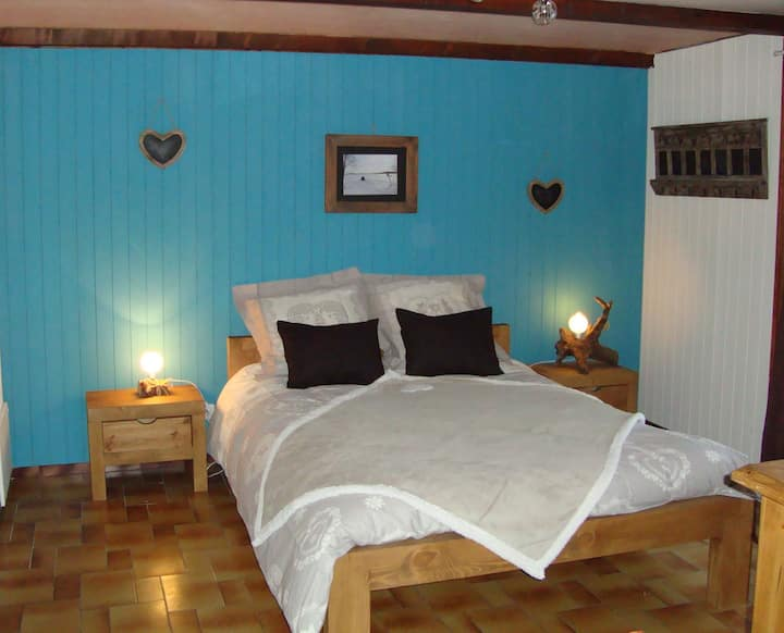 Two parts-Room in a chalet