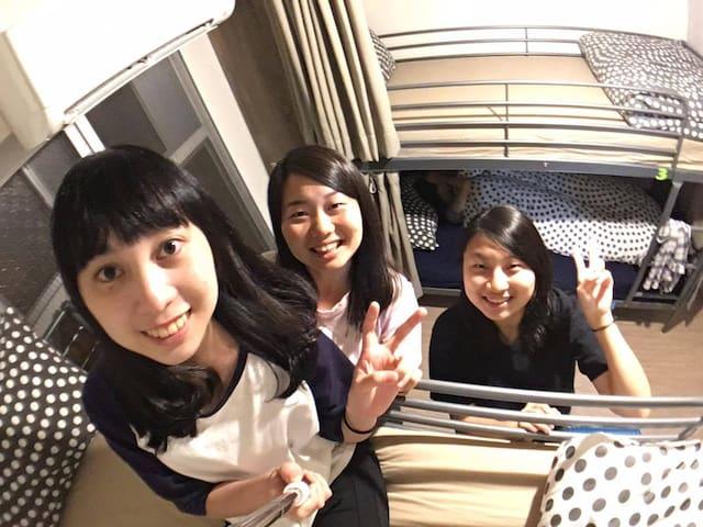 Loft18 Hostel 陳倉客棧 4人女性背包房Female Dorm Room