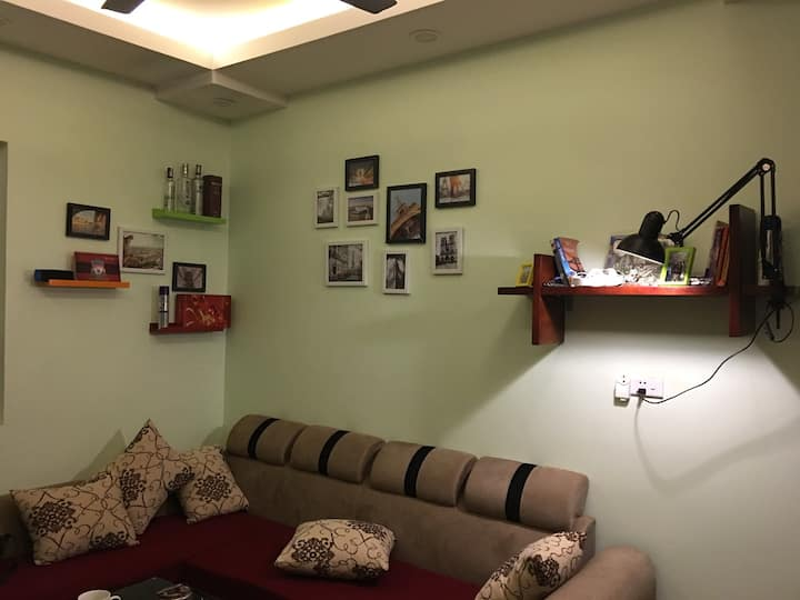 A Cozy apartment furnished full of staffs