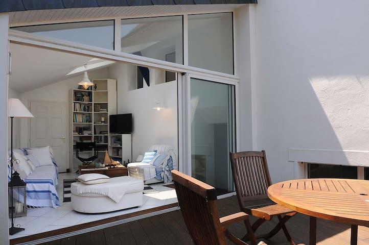 maison très bien située  terrasse - Île-aux-Moines
