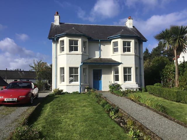 This shows the front of our house to help you find it. The private annexe which is the listing, is at the rear of the house  and shown in later photos