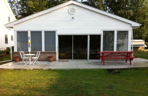 Freeman Cottage on Magician Lake, Michigan