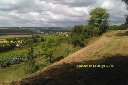 Belle maison au calme entre vignes et forêt - Pavant