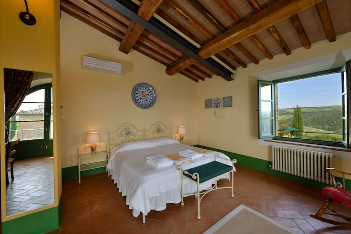 Honeymoon suite in Tuscany - Pool - Buonconvento - Leilighet