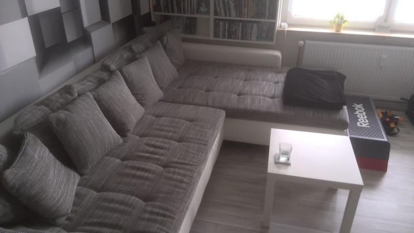 ruhiges, waldnahes 30qm Zimmer mit Balkon - Hagen - Apartment