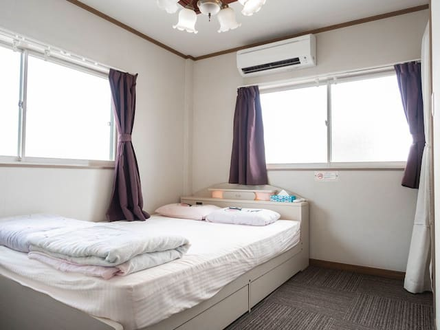 3F雙人床房間 Double bed