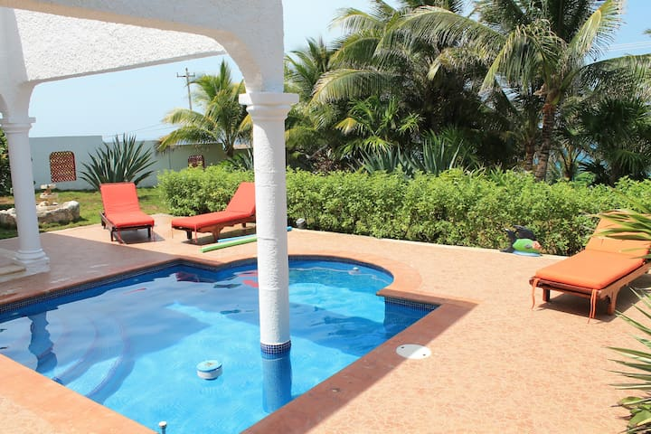Studio by the sea with pool - Isla Mujeres - Departamento