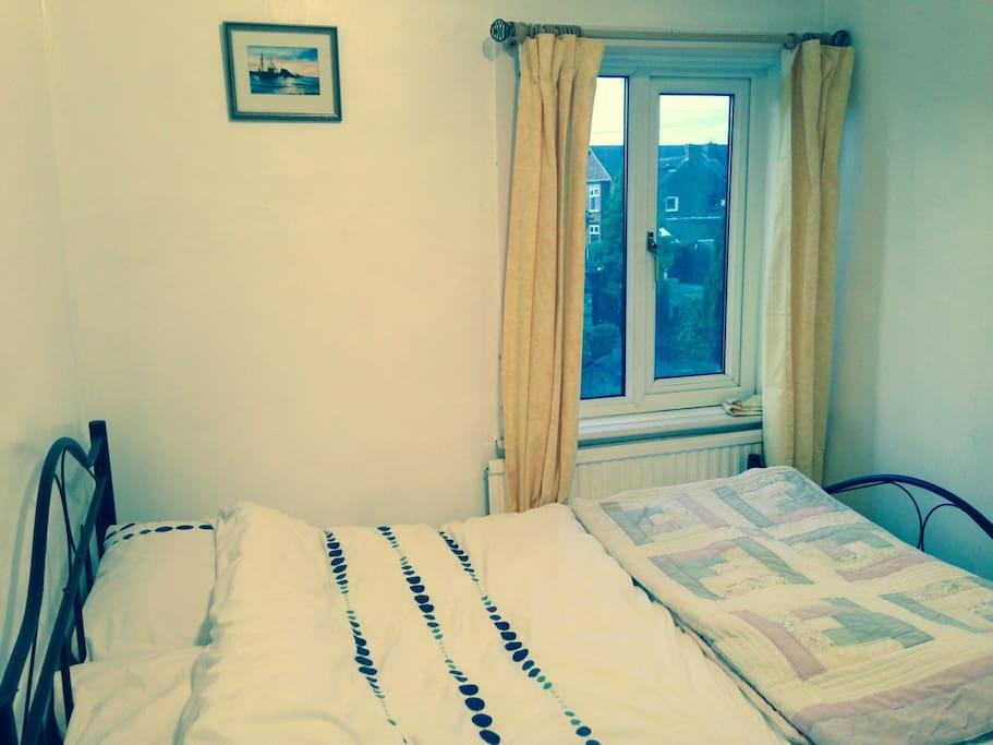 Sunny double bedroom