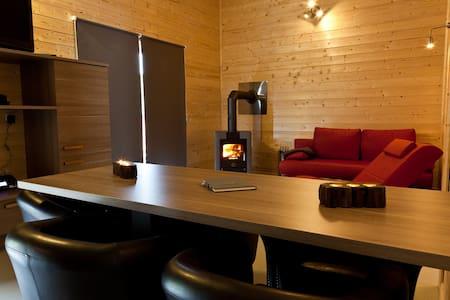 Ferienhaus Heides Hütte 3 am Waldsee Rieden/Eifel - Rieden - Dům pro hosty