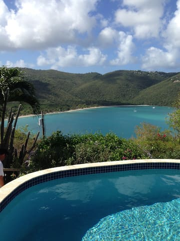 Sea 280 degrees from Dove's Hilltop - Charlotte Amalie