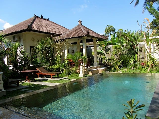 Amomaya - Serene 1 bed villa *Pool &private garden
