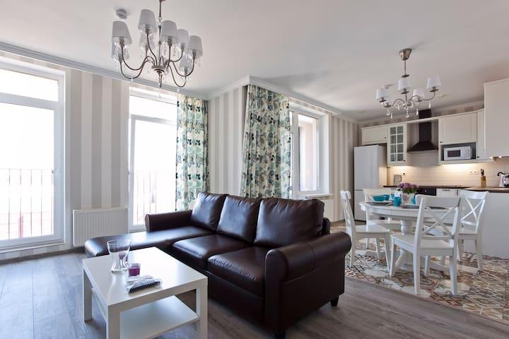apartment in Scandinavian style