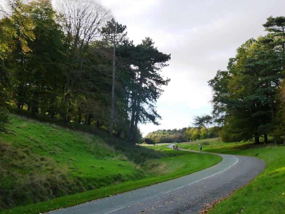 This is one of our favourite walks up to the Papal Cross