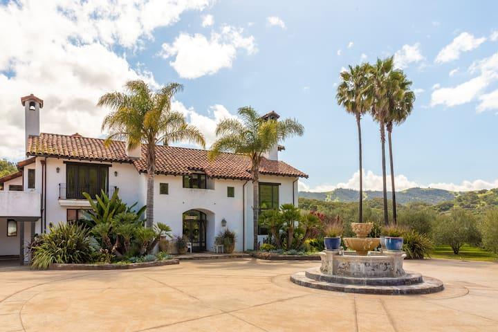 The Hacienda House in Pastures of Heaven