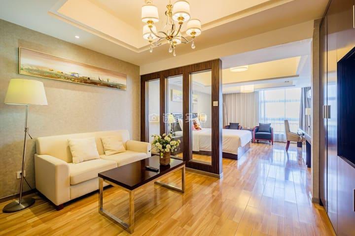 西塘古镇景区商旅亲子首选豪华大床公寓