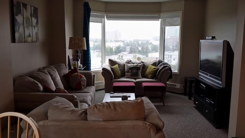 Apartment in Downtown Yellowknife - Yellowknife - Apartemen