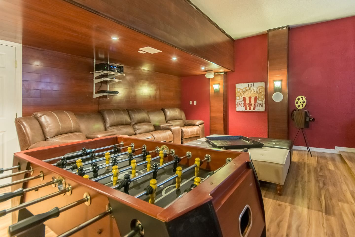 Enjoy your private movie theater