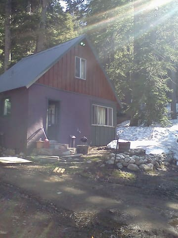 Vintage Mammoth Cabin in the Woods - Mammoth Lakes - Cabin