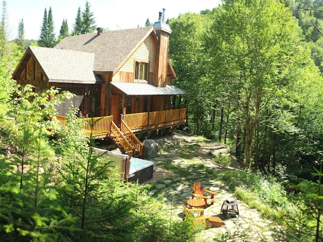 The Dreaming Stream - Spa and Sauna - Saint-Adolphe-d'Howard - Hus